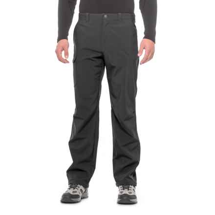 White Sierra Rubicon Hill Soft Shell Pants - Waterproof (For Men) in Black - Closeouts