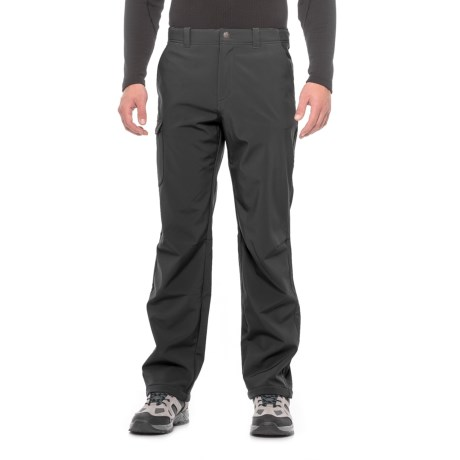White Sierra Rubicon Hill Soft Shell Pants - Waterproof (For Men) in Black