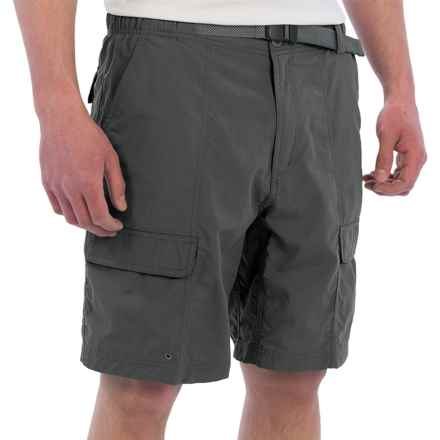 "WHITE SIERRA SAFARI II SHORTS - 9"" INSEAM (For Men) in Caviar - Closeouts"