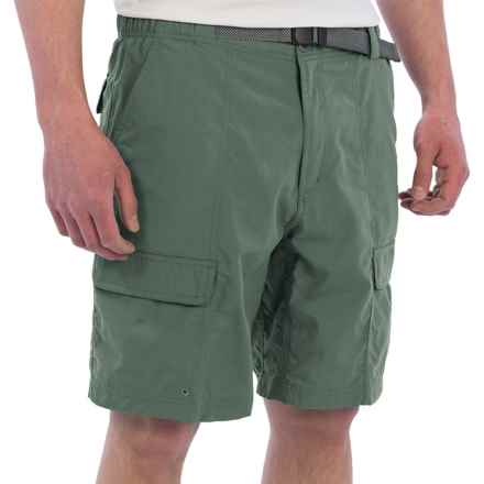 White Sierra Safari II Shorts (For Men) in Balsam Green - Closeouts