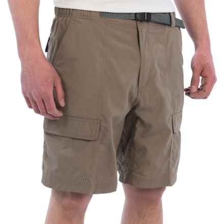 White Sierra Safari II Shorts (For Men) in Bark - Closeouts