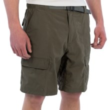 White Sierra Safari II Shorts (For Men) in Dark Sage - Closeouts