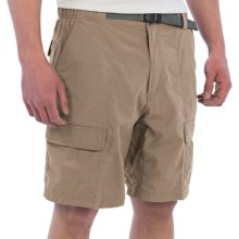 White Sierra Safari II Shorts (For Men) in Khaki - Closeouts