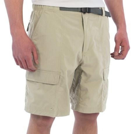 White Sierra Safari II Shorts (For Men)