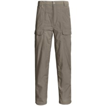 White Sierra Safari Pants - UPF 30 (For Men) in Bark - Closeouts