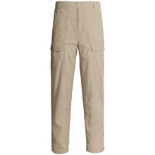 White Sierra Safari Pants - UPF 30 (For Men) in Stone - Closeouts