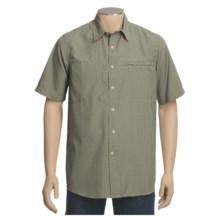 White Sierra Salt Point Shirt - UPF 30, Short Sleeve (For Men) in Stone - Closeouts