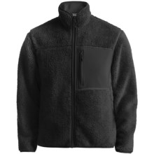 White Sierra Sandy Gulch Jacket - Fleece (For Men) in Black/Black - Closeouts