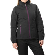 White Sierra Select Stretch II Jacket - Waterproof, Insulated (For Women) in Black - Closeouts