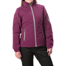White Sierra Select Stretch II Jacket - Waterproof, Insulated (For Women) in Deep Purple - Closeouts