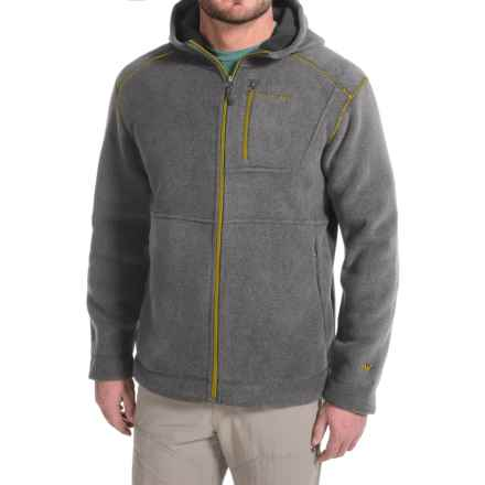 White Sierra Sherpa Hooded Fleece Jacket (For Men) in Arrowhead - Closeouts