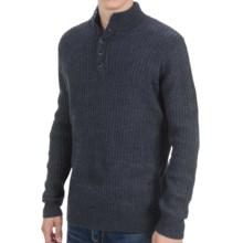 White Sierra Sherwood Sweater - Wool Blend (For Men) in Titanium - Closeouts