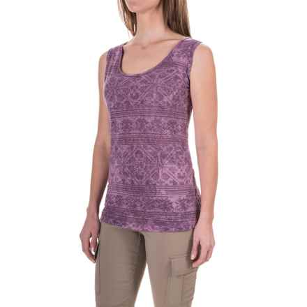 White Sierra Shiva Tank Top (For Women) in Grape - Closeouts