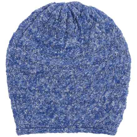 White Sierra Shooting Stars Beanie - Wool Blend (For Women) in Blues - Closeouts