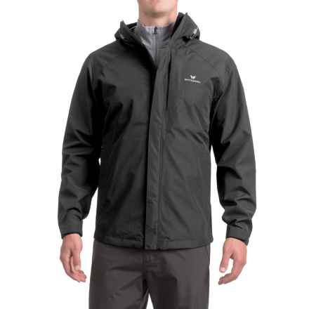White Sierra Sierra Guide 2.5-Layer Jacket - Waterproof (For Men) in Black - Closeouts