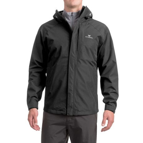 White Sierra Sierra Guide 2.5-Layer Jacket - Waterproof (For Men) in Black