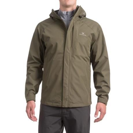 White Sierra Sierra Guide 2.5-Layer Jacket - Waterproof (For Men) in Dark Sage