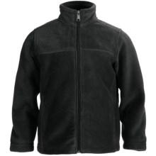White Sierra Sierra Mountain Fleece Jacket (For Little and Big Kids) in Black - Closeouts