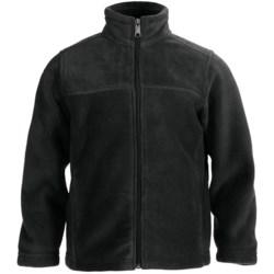 White Sierra Sierra Mountain Fleece Jacket (For Little and Big Kids) in Black