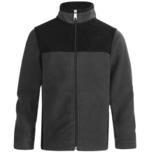 White Sierra Sierra Mountain Fleece Jacket (For Little and Big Kids) in Charcoal Heather - Closeouts