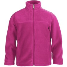 White Sierra Sierra Mountain Fleece Jacket (For Little and Big Kids) in Sugar Plum - Closeouts