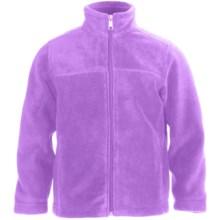 White Sierra Sierra Mountain Fleece Jacket (For Little and Big Kids) in Wisteria - Closeouts