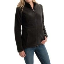 White Sierra Sierra Mountain Fleece Jacket (For Women) in Black - Closeouts