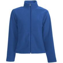 White Sierra Sierra Mountain Fleece Jacket (For Women) in Blue Print - Closeouts