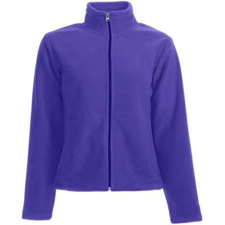 White Sierra Sierra Mountain Fleece Jacket (For Women) in Blueberry