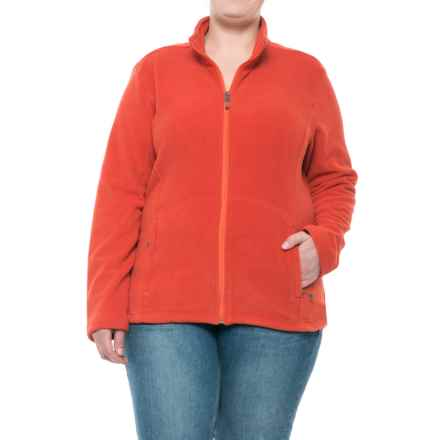 White Sierra Sierra Mountain Fleece Jacket (For Women) in Molten Lava - Closeouts