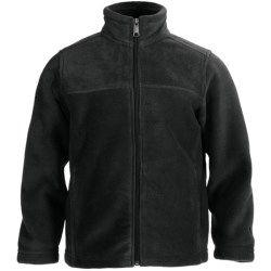 White Sierra Sierra Mountain Fleece Jacket (For Youth) in Black