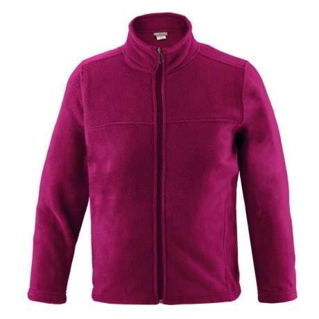 White Sierra Sierra Mountain Fleece Jacket (For Youth) in Rose Bud