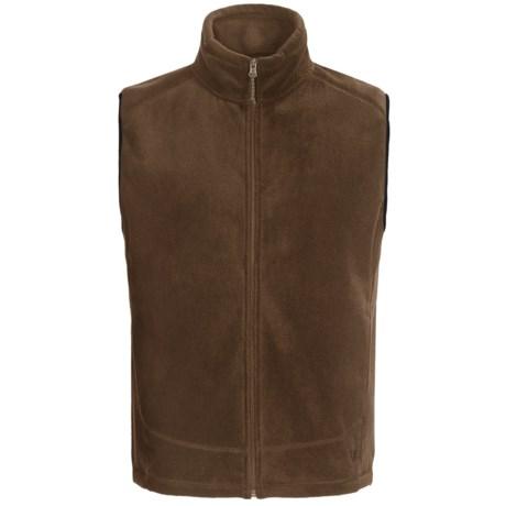 White Sierra Sierra Mountain Fleece Vest (For Men) in Breen