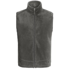 White Sierra Sierra Mountain Fleece Vest (For Men) in Charcoal Heather - Closeouts