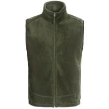 White Sierra Sierra Mountain Fleece Vest (For Men) in Dark Sage - Closeouts