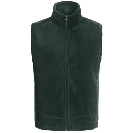 White Sierra Sierra Mountain Fleece Vest (For Men) in Kelp