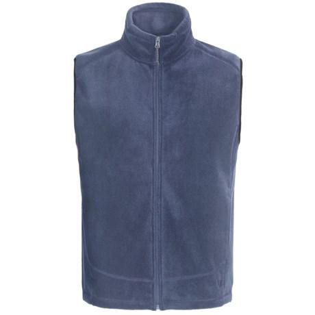 White Sierra Sierra Mountain Fleece Vest (For Men) in Vintage Indigo