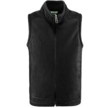 White Sierra Sierra Mountain Fleece Vest (For Youth) in Black - Closeouts