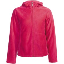 White Sierra Sierra Mountain Hoodie Fleece Jacket (For Women) in Bright Rose - Closeouts