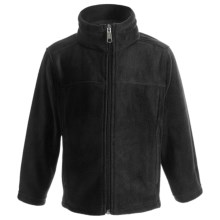 White Sierra Sierra Mountain Jacket - Fleece (For Kids) in Black - Closeouts