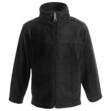 White Sierra Sierra Mountain Jacket - Fleece (For Kids) in Black - Closeouts