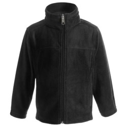 White Sierra Sierra Mountain Jacket - Fleece (For Toddlers) in Black