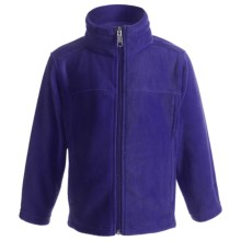 White Sierra Sierra Mountain Jacket - Fleece (For Toddlers) in Blueberry - Closeouts