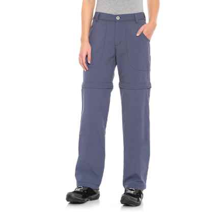 White Sierra Sierra Point Convertible Pants - UPF 30 (For Women) in Crown Blue