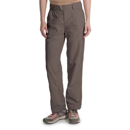 White Sierra Sierra Point Pants - UPF 30, Nylon (For Women) in Caviar - Closeouts