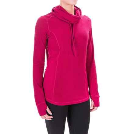White Sierra Sierra Ridge Brushed Cowl Neck Shirt - Long Sleeve (For Women) in Rosebud - Closeouts