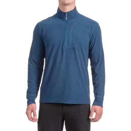 White Sierra Sierra Ridge II Striped Shirt - Zip Neck, Long Sleeve (For Men) in Blue Depths - Closeouts