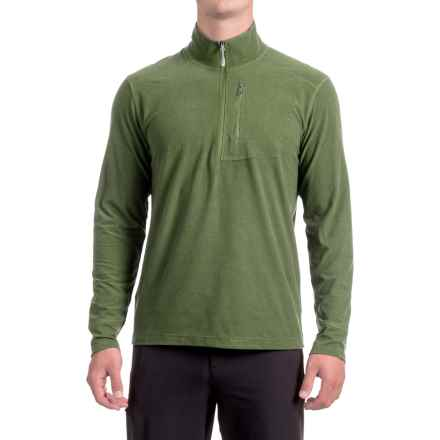White Sierra Sierra Ridge II Striped Shirt - Zip Neck, Long Sleeve (For Men) in Sage - Closeouts