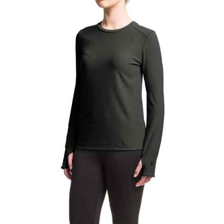 White Sierra Sierra Ridge Stripe Shirt - Crew Neck, Long Sleeve (For Women) in Black - Closeouts