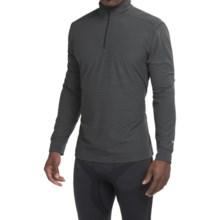 White Sierra Sierra Ridge Stripe Shirt - Zip Neck, Long Sleeve (For Men) in Black - Closeouts